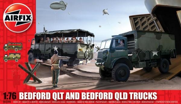 Airfix Bedford Qlt And Bedford Qld Trucks