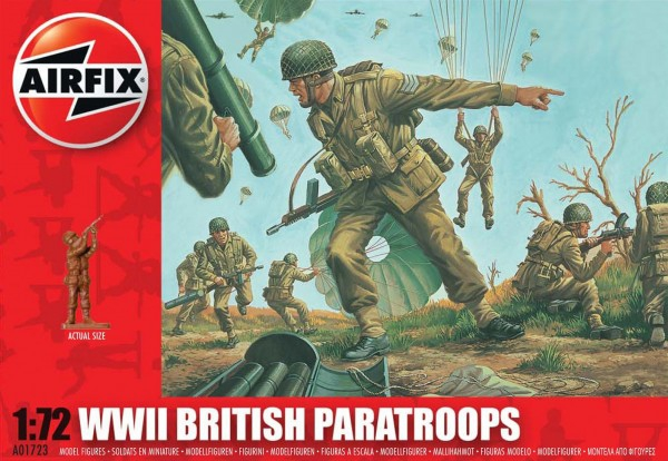 Airfix British Paratroops
