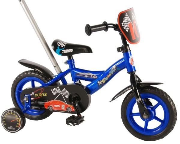 Bicicleta pentru baieti 10 inch cu roti ajutatoare Volare Yipeeh