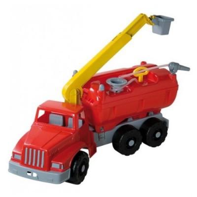 Camion de pompieri plastic cu pompa