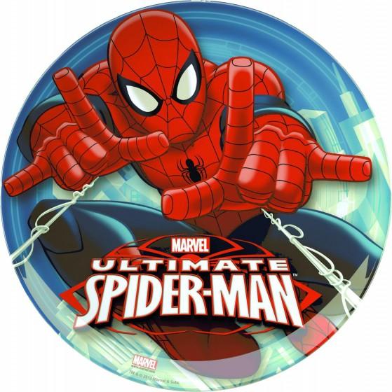 Farfurie intinsa BBS 20 cm pentru copii cu licenta Spiderman