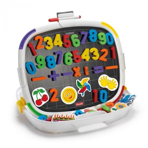 Joc creativ Quercetti tablita Premium magnetica cifre 64 piese 0