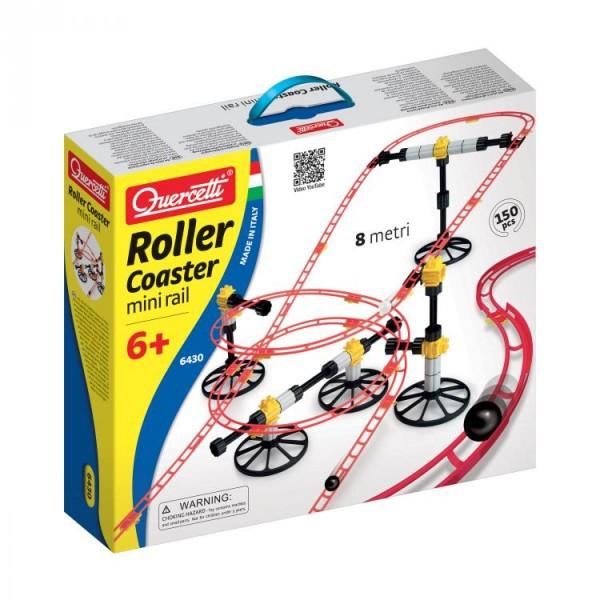 Joc creativ Roller Coaster Mini Rail Quercetti montagne russe  0