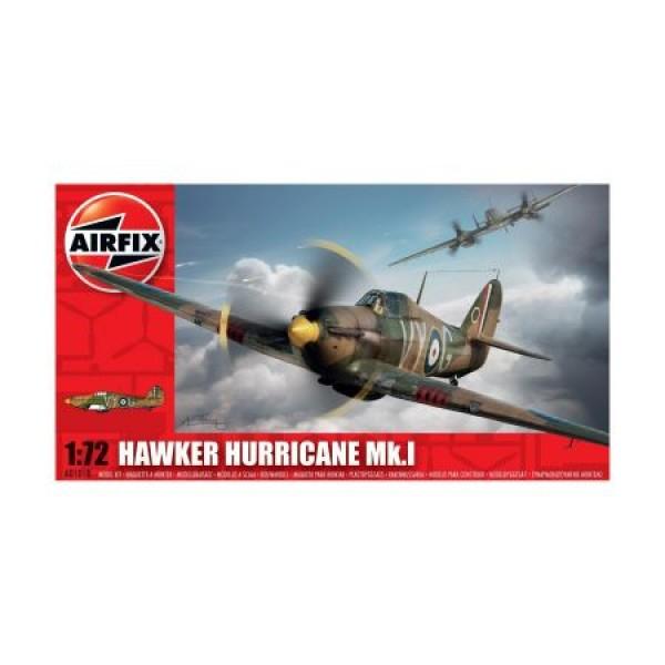 KIt aeromodele Airfix 01010 Avion Hawker Hurricane Mk.I Scara 1:72 0