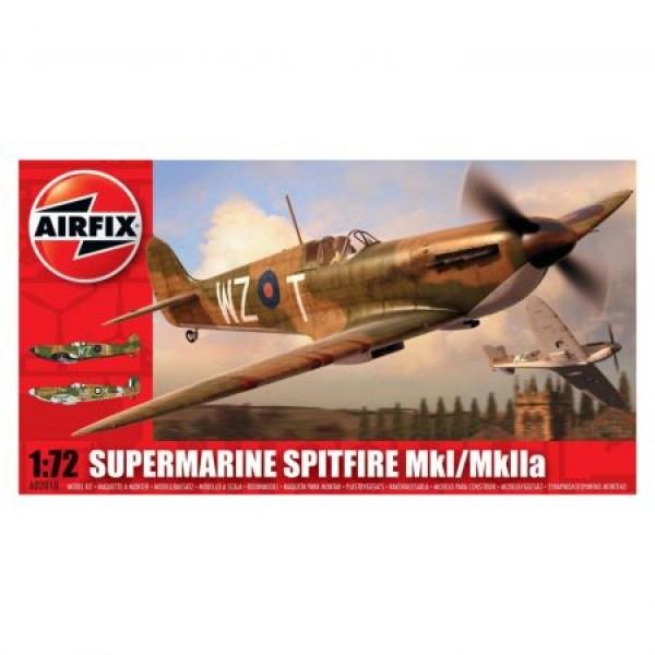 Kit aeromodele Airfix 02010 Avion Supermarine Spitfire MkI/MkIIa Scara 1:72