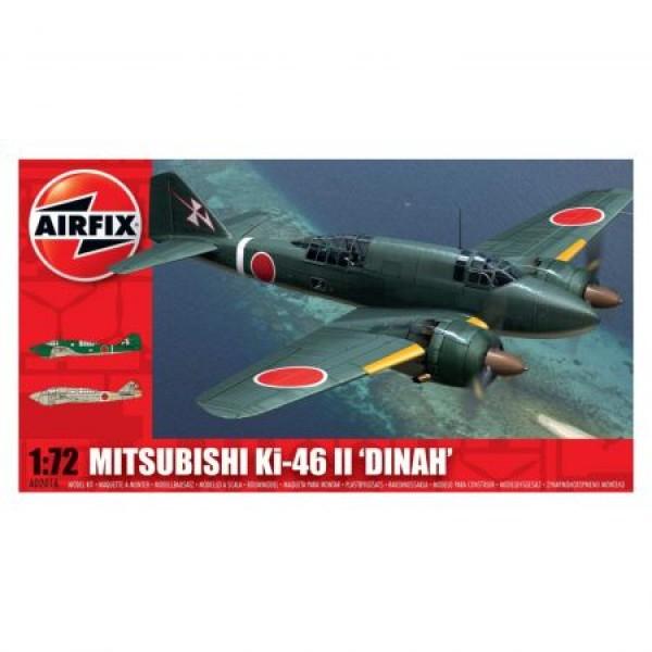 Kit aeromodele Airfix 02016 Avion Mitsubishi KI-46-II DINAH Scara 1:72