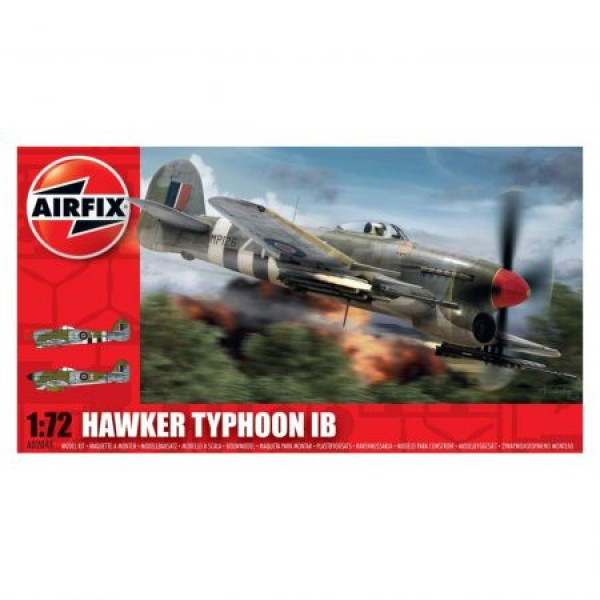 Kit aeromodele Airfix 02041 Avion Hawker Typhoon Ib Scara 1:72