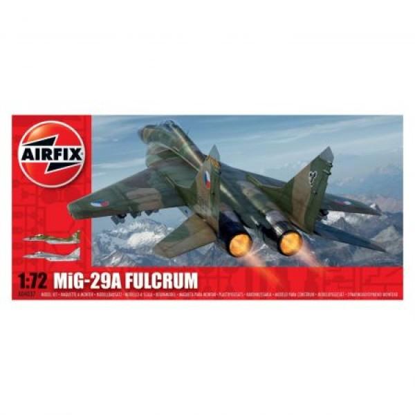 Kit aeromodele Airfix 4037 Avion MiG-29A Fulcrum Avion 1:72