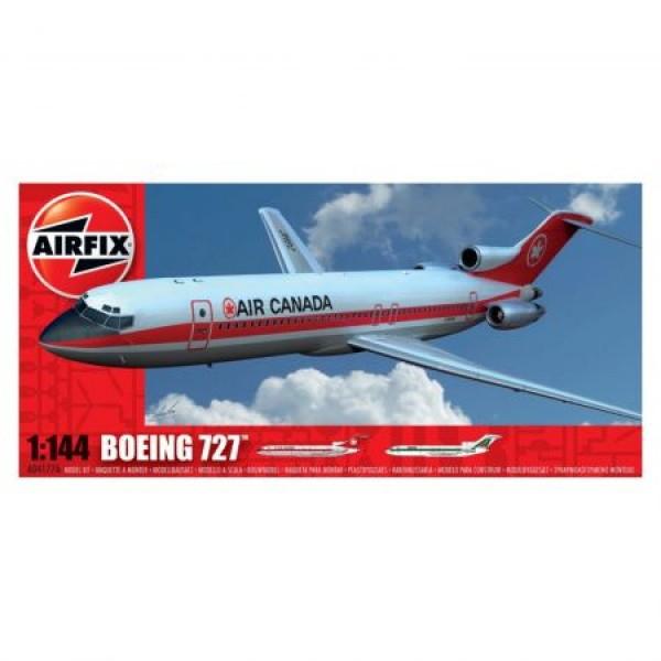 Kit aeromodele Airfix 4177 Avion Boeing 727 Scara 1:144
