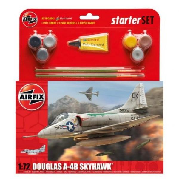 Kit aeromodele Airfix 55203 Avion Douglas A4-B Skyhawk scara 1:72