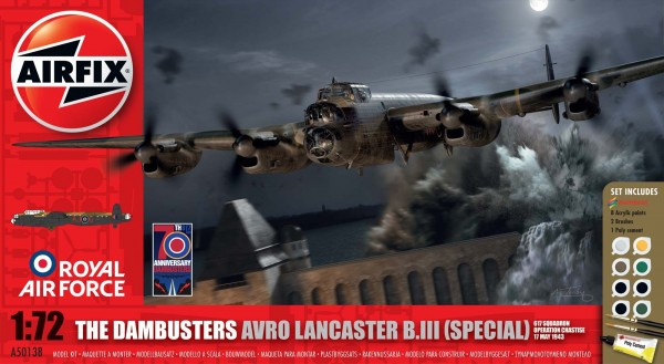 Kit Airfix 50138 The Dambusters Avro Lancaster