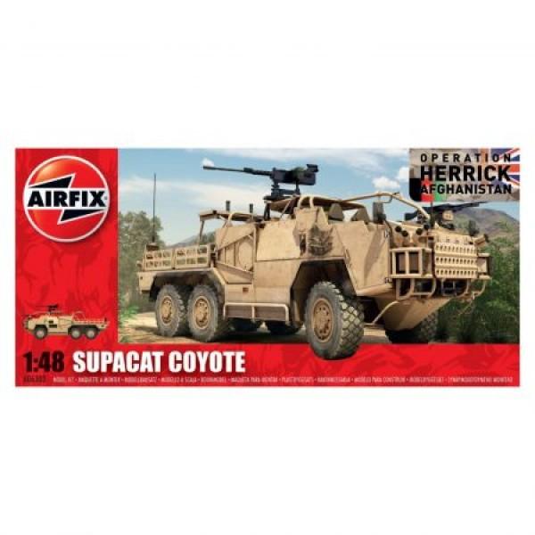 Kit automodele Airfix 6302 Masina Supacat Coyote Scara 1:48