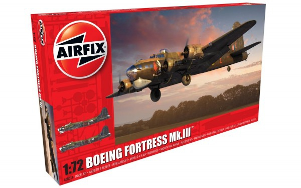 Kit constructie Airfix avion Boeing Fortress MK.III 1:72
