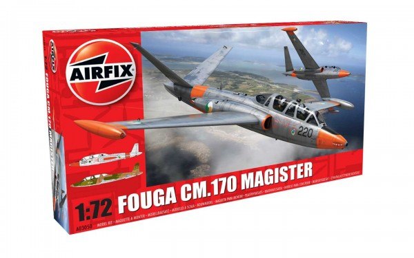 Kit constructie Airfix avion Fouga CM.170 Magister