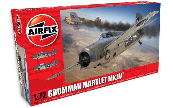 Kit constructie Airfix avion Grumman Martlet Mk.IV 0