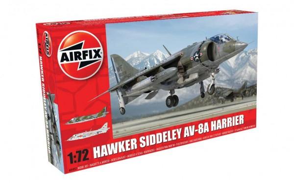 Kit constructie Airfix avion Hawker Siddeley Harrier AV-8A