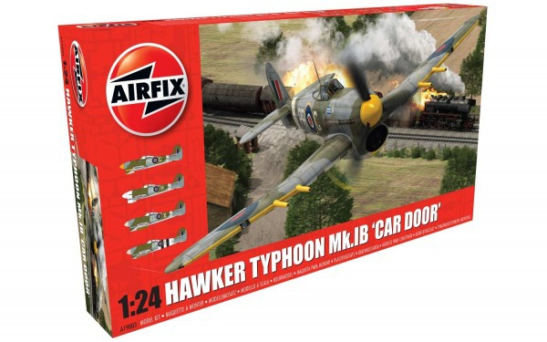 Kit constructie Airfix avion Hawker Typhoon 1B - Car Door 1:24