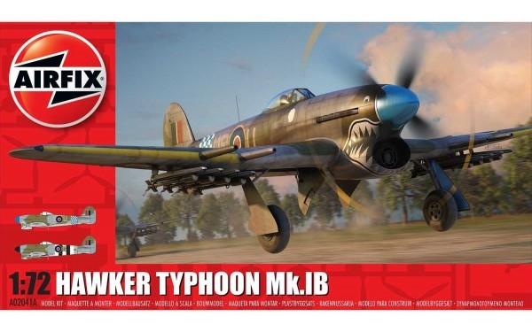 Kit constructie Airfix avion Hawker Typhoon Ib 1:72 0