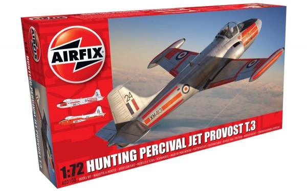 Kit constructie Airfix avion Hunting Percival Jet Provost