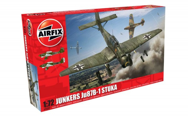 Kit constructie Airfix avion Junkers Ju87 B-1 Stuka