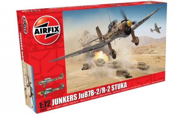 Kit constructie Airfix avion Junkers Ju87B-2/R-2 Stuka 1:72