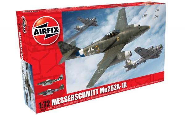 Kit constructie Airfix avion Messerschmitt Me262A-1A Schwalbe 1:72