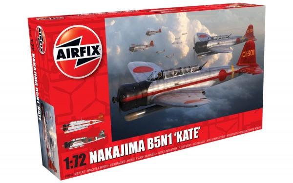 Kit constructie Airfix avion Nakajima B5N1 Kate