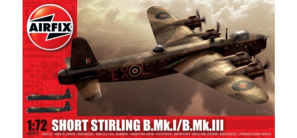 Kit constructie Airfix avion Short Stirling B.Mk.I/B.Mk.III
