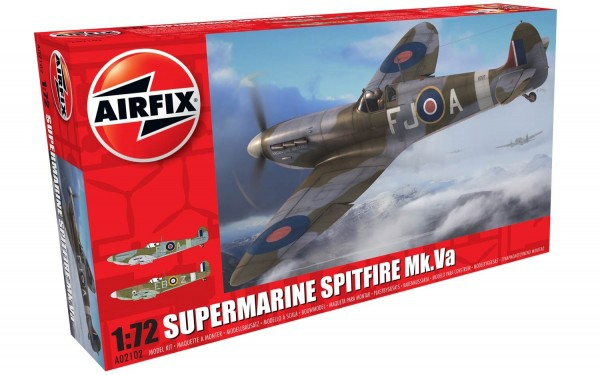 Kit constructie Airfix avion Supermarine Spitfire Mk.VA 0
