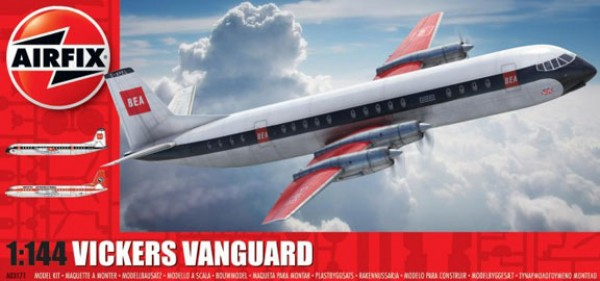 Kit constructie Airfix avion Vickers Vanguard