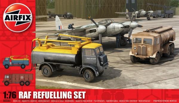 Kit constructie Airfix set 2 masini pentru alimentare combustibil