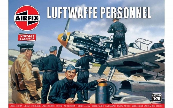 Kit constructie Airfix soldati Luftwaffe Personnel 0
