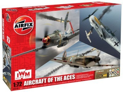 Kit constructie avion - Set 3 avioane Airfcraft Of the Aces