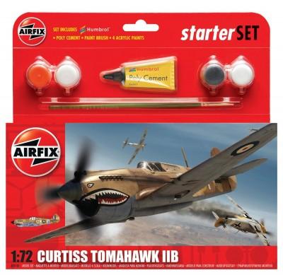 Kit constructie Avion Curtiss Tomahawk IIB