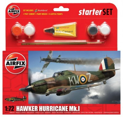 Kit constructie Avion Hawker Hurricane Mkl