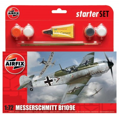 Kit constructie avion Messerschmitt Bf109E