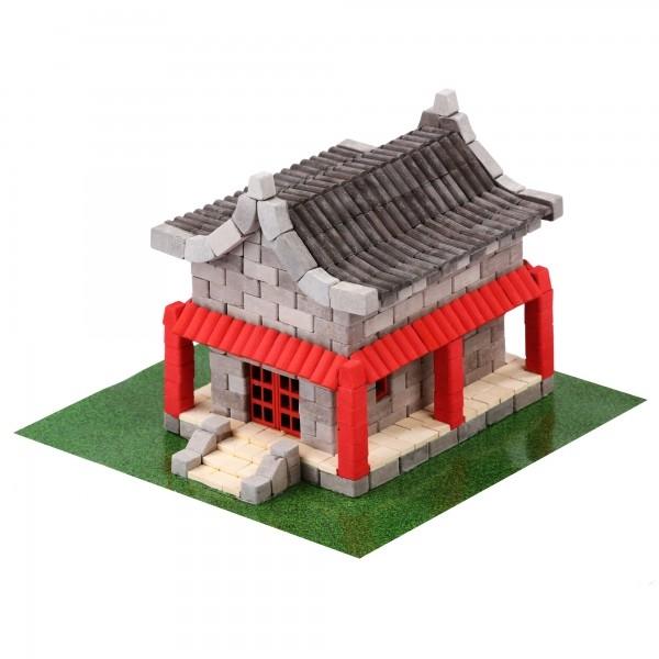 Kit constructie caramizi Wise Elk Casa chinezeasca 600 piese reutilizabile 0