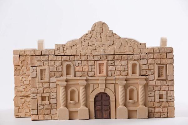 Kit constructie caramizi Wise Elk Fortareata Alamo 510 piese reutilizabile 0