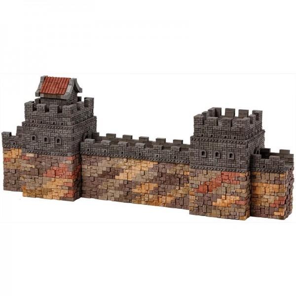 Kit constructie caramizi Wise Elk Marele Zid Chinezesc 1530 piese reutilizabile 0