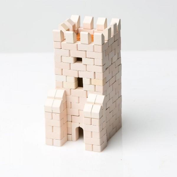 Kit constructie caramizi Wise Elk Turn de pod 300 piese reutilizabile 0