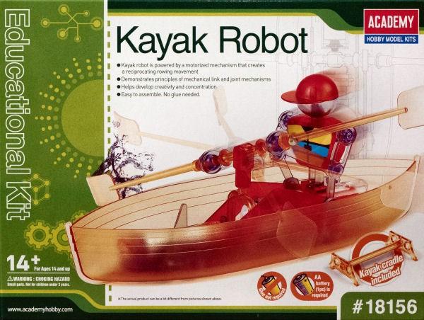 Kit constructie Edu Kit Robot cu barca si vasle