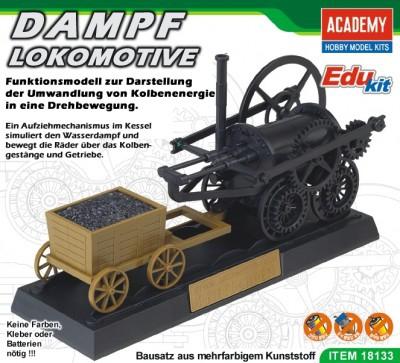 Kit constructie functional Locomotiva aburi 0