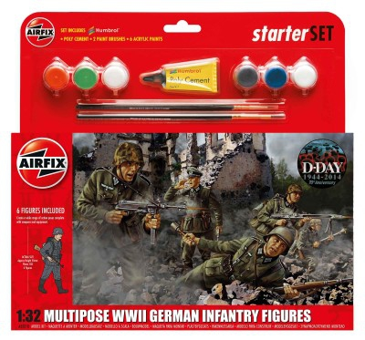 Kit constructie Infanterie Germana