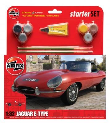 Kit constructie masina Jaguar E Type