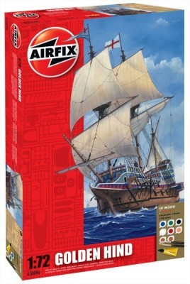 Kit constructie nava Golden Hind