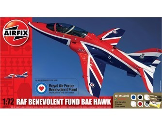 Kit constructie si pictura avion  RAF Benevolent Fund BAE Hawk