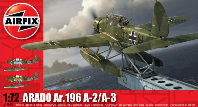 Kit constructie si pictura avion Arado Ar196 A-2/A-3 0