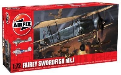 Kit constructie si pictura avion Fairey Swordfish Mk1