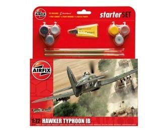 Kit constructie si pictura avion Hawker Typhoon Ib