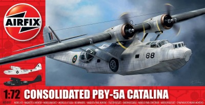 Kit constructie si pictura avion PBY-5A Catalina